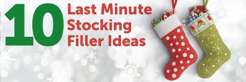 10 Last Minute Stocking Filler Ideas