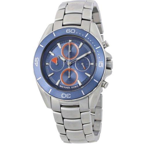 Michael Kors Jetmaster Chronograph Stainless Steel Mens Watch MK8484