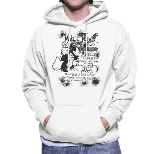 Disney Mickey Mouse Band Make Some Noise Men's Hooded Sweatshirt