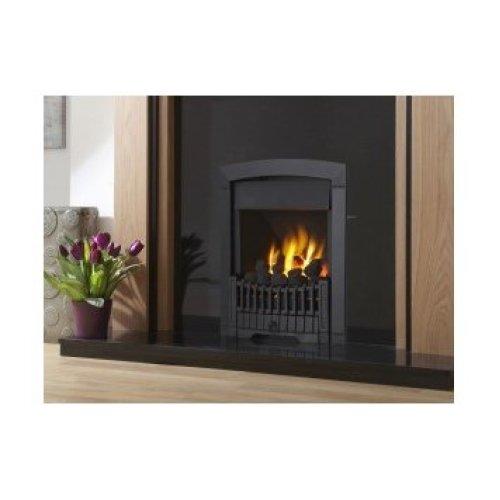 Designer Fire - Flavel FKPCBLSN Black Rhapsody Plus Gas Fire - SC