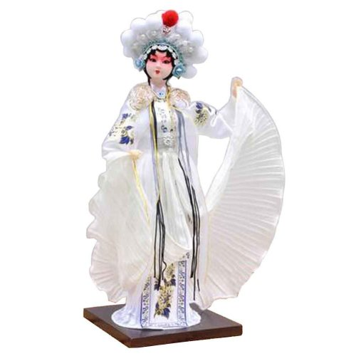 Traditional Chinese Doll Peking Opera Performer - Bai Niang Zi