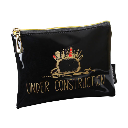 FMG Mini Cosmetics Make Up Pouch, Under Construction