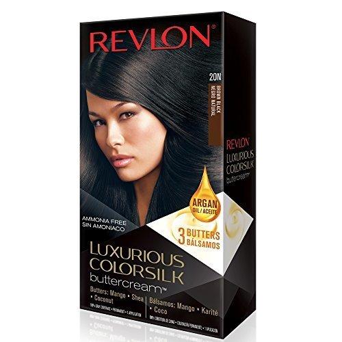 Revlon Luxurious Colorsilk Buttercream, Brown Black