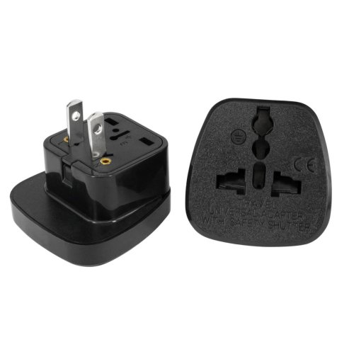 Mexico Plug Adapter by aPlug – Travel Adaptor Mexico – Mexico Plug Adapter UK. Super Reliable | Powerful | Lightweight | Pack of 2.