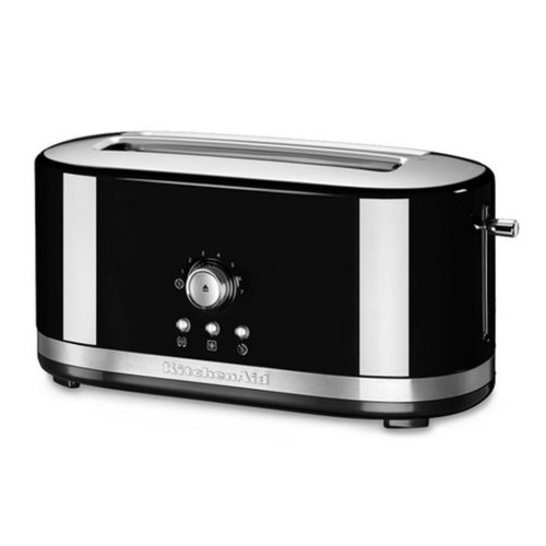 KitchenAid 5KMT4116EOB Manual 2 Slot Toaster Bagel Keep Warm Functions Black