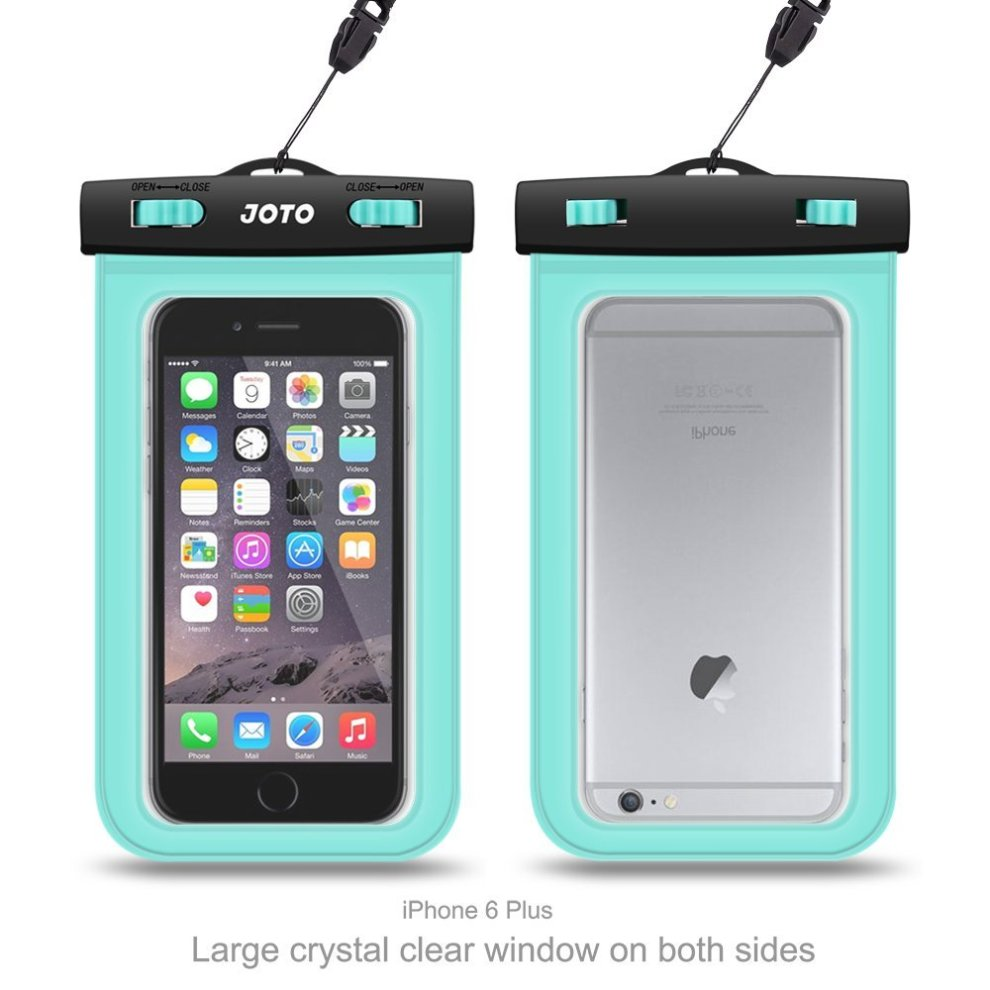 reputable site 7ab0b 10c67 Universal Waterproof Case, JOTO Cellphone Dry Bag Pouch for iPhone Xs  Max/XR/X/8/7/7 Plus/6S Plus, Samsung Galaxy S9 Plus/ S8 Plus/Note 8 6 5  4,...