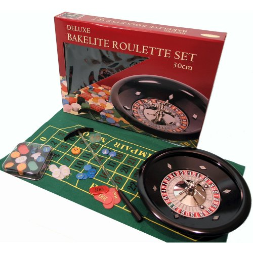 Heavy duty roulette set with bakelite and metal wheel 00613