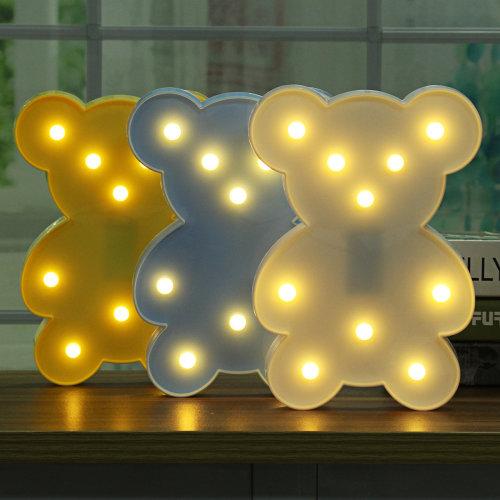 Cute Bear LED Night Light