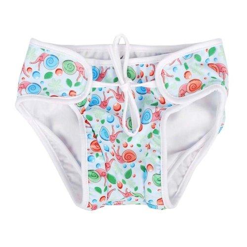 [Snails-1] Reuseable Baby Swim Diaper Lovely Infant Swim Nappy Swimwear