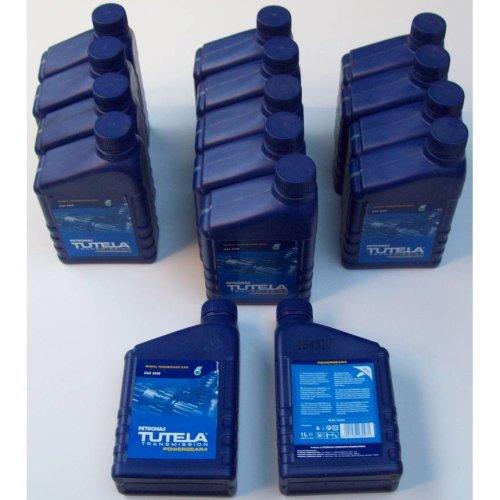 Job Lot X15 1 Litre Tutela Petronas Manual Transmission Oil SAE 80W