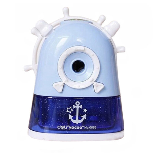 Kids Cute  Manual Pencil Sharpener For Classroom School Stationery?Pirate Ship