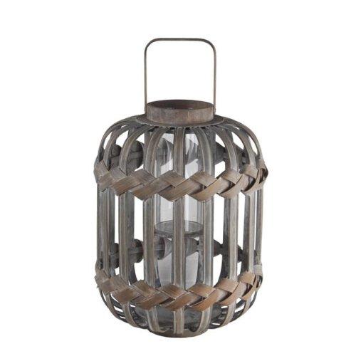 Privilege 89032 Bamboo Lantern, Grey
