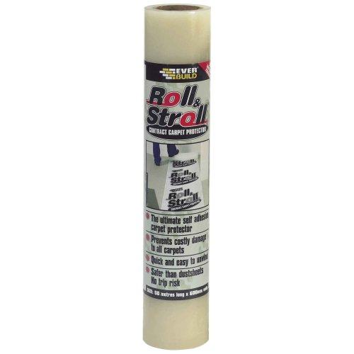 Everbuild EVBROLL50 600 mm x 50 m Roll and Stroll Carpet