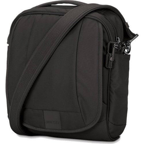 Pacsafe Metrosafe LS200 Anti Theft Shoulder Bag (Black)