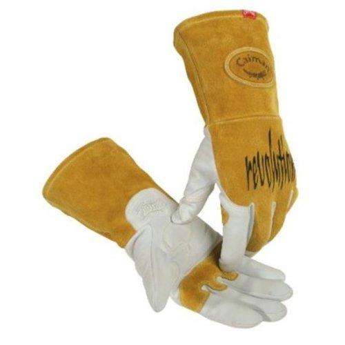 Caiman 607-1868-L Caiman Revolution Welding Gloves For Multi-Task-Tig Welding, Revolution Goat Tig Glv Lg