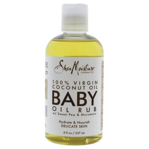 100 Percent Virgin Coconut Oil Baby Oil Rub by Shea Moisture for Kids - 8 oz Oil