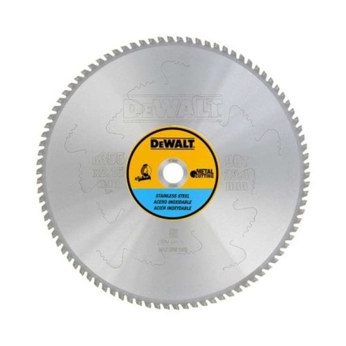 DeWALT DT1922-QZ 355x25.4 90T Stainless Steel Stationary Saw Blade