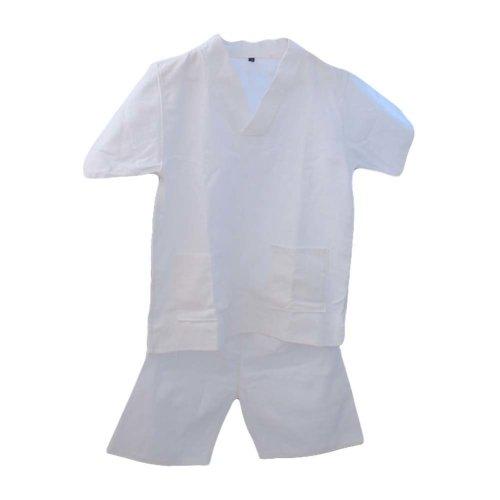 Pullover Kimono Style Loose Pajamas Cotton Waffle Fabric Khan Steam Clothes