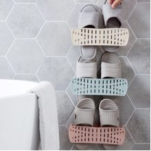 Foldable Wall-mounted Shoe Rack