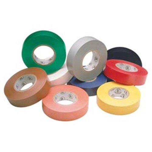 0.75 in. x 60 ft. Colored Electrical Tape - Gray
