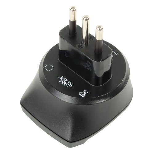 ANSMANN Travel Plug EU to IT Adaptor