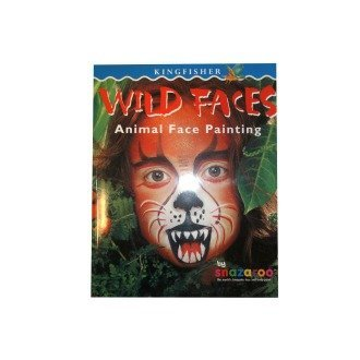 Snazaroo Wild Faces Face Painting Book