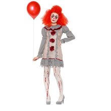 (Medium) Smiffys Clown Lady Costume | Women's Clown Costume
