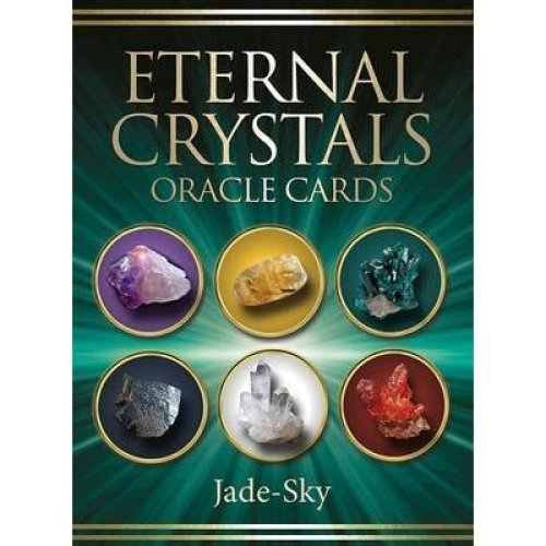 Eternal Crystals Oracle Cards by Jade-Sky - 44 Cards and Guidebook Set