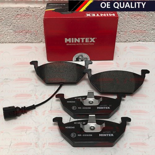 FOR AUDI SEAT SKODA VW BRAND NEW OE QUALITY MINTEX FRONT BRAKE PADS SET