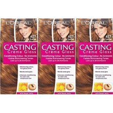L'Oreal Casting Creme Gloss 623 Cafe Latte x 3 Packs