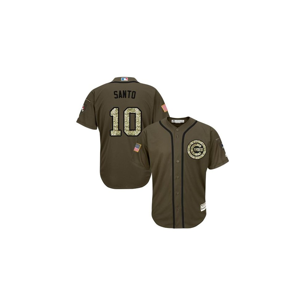 1f6c5cc71be ... Chicago Cubs Cool Base MLB Custom Salute To Service Jersey - 2 ...