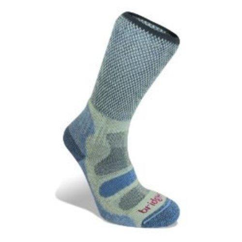 Bridgedale Womens Coolfusion Light Hiker Socks (Smoky Blue Medium)