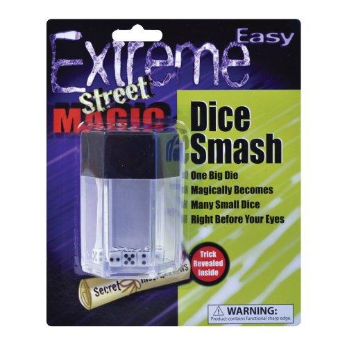 Dice Smash Magic Trick Set - Explosion Fancy Dress Bomb Explosion Joke Magician -  magic dice explosion trick fancy dress smash DICE BOMB EXPLOSION