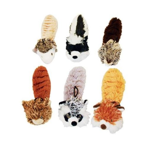 37605 Bouncy Burrow Buddies Babies Assorted Dog Toy, 8 in.