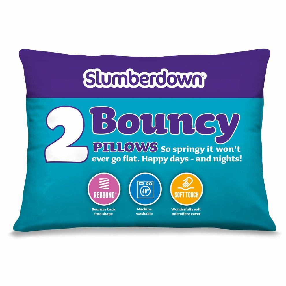 Slumberdown Back Sleeper Pillow, Pack