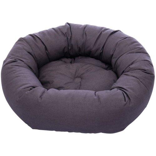 Dog Gone Smart Donut Bed Pebble Grey 107cm