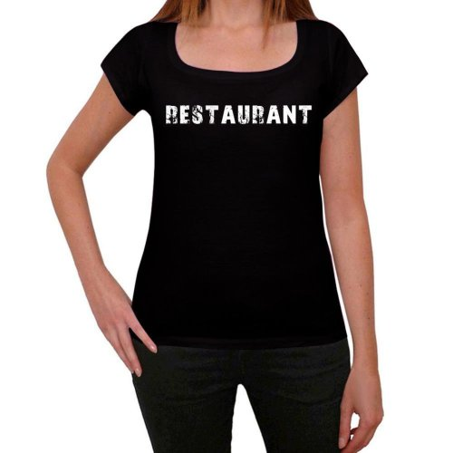 Restaurant Womens T Shirt Black Birthday Gift 00547 On OnBuy