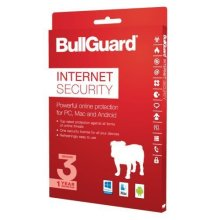 Bullguard Internet Security 2018 Retail, 3 User (Single), Multi Device Licence, 1 Year