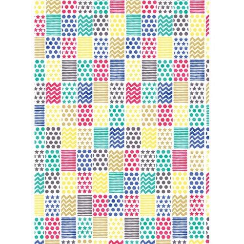 Simon Elvin Geometric Pattern Gift Wrap (Pack of 24)