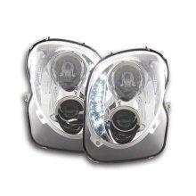 DRL Daylight headlight  Alfa Romeo witho Year 08- chrome