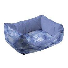 Ferplast Coccolo 50 Cat & Small Dog Bed Blue