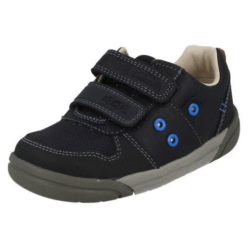 Boys Clarks Casual Shoes Lilfolk Pop - G Fit