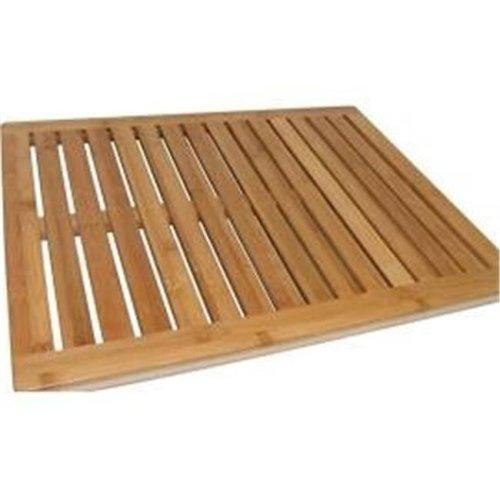 Bath Mat 100 Percent Bamboo - Brown