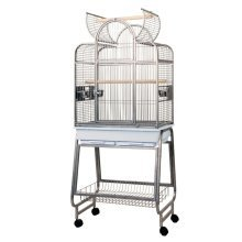 Strong Parrot Cage Villa Bianca Grey 67.7x51.5x154 cm 93084