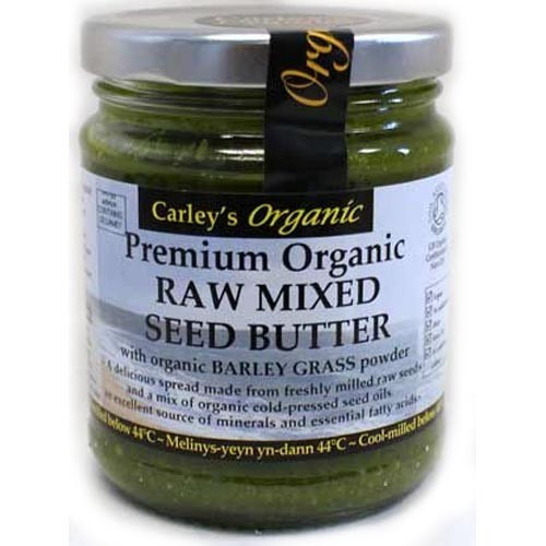 Carley's Org Raw Mx Seed+barley Grass Pwdr 250g