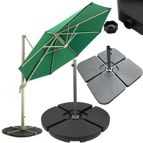 Parasol Base Stand Weights for Banana Hanging Cantilever Umbrella
