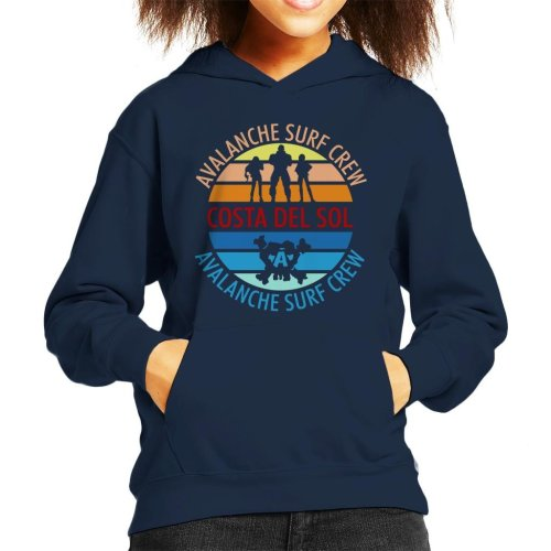 Final Fantasy Costa Del Sol Avalanche Surf Crew Kid's Hooded Sweatshirt