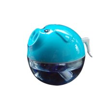 Mini Piggy Portable USB Air Freshener Humidifier, Blue