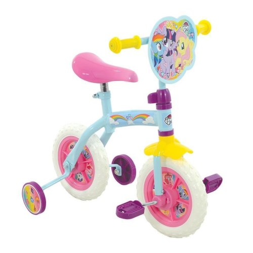 "My Little Pony Girls 2 in 1 Training Balance Converitble Pedal 10"" Bike M14434"