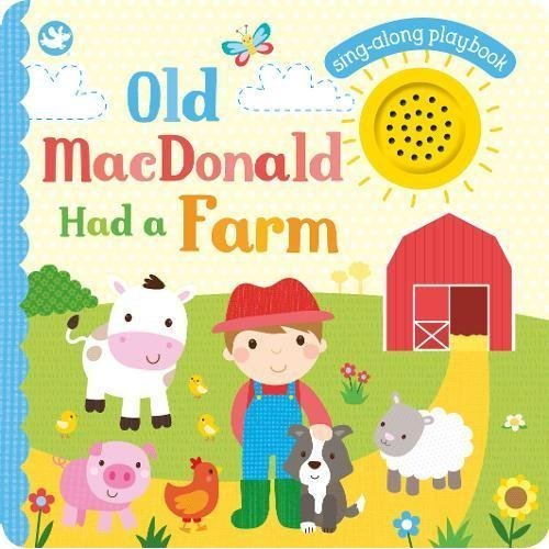 Little Learners Old MacDonald Had a Farm: Sing-Along Playbook (Board Book and Sound)